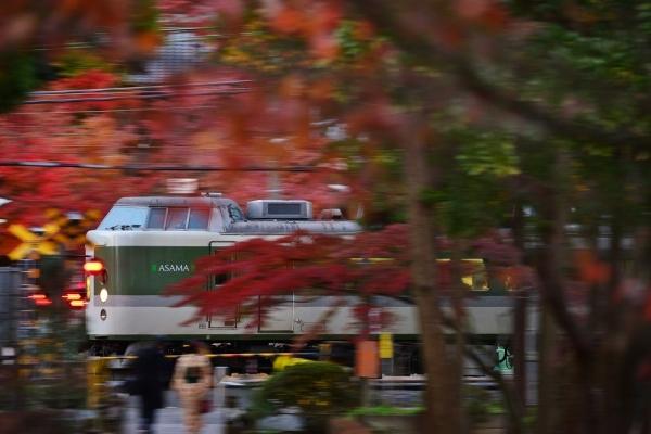 2017年12月2日 JR東日本横須賀線 鎌倉~北鎌倉 189系N102編成