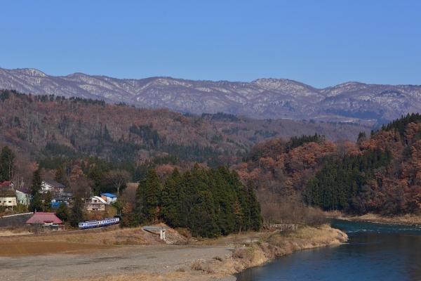 2017年12月3日 JR東日本飯山線 上桑名川~上境 キハ110-231+キハ110-233