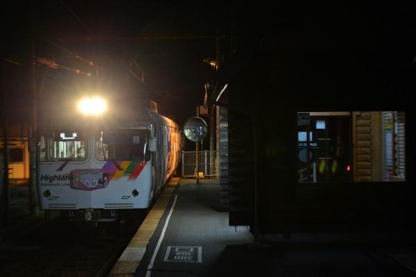 2017年12月3日 アルピコ交通上高地線 下新 3000系3005-3006