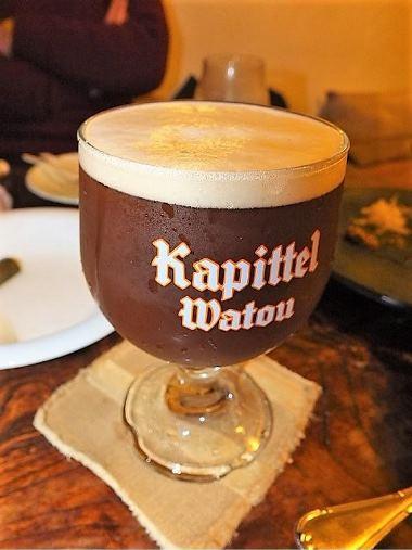 12ベルギーカピテルウィンター聖杯グラス0205