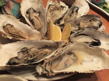 13仙鳳趾産焼き牡蠣0218
