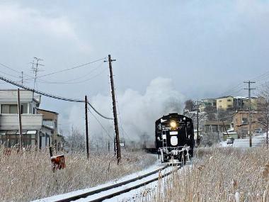 17下り9381レ追っかけ撮影釧路-東釧路材木町踏切0223