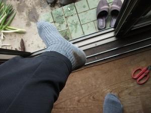 171130ドロしみ靴下
