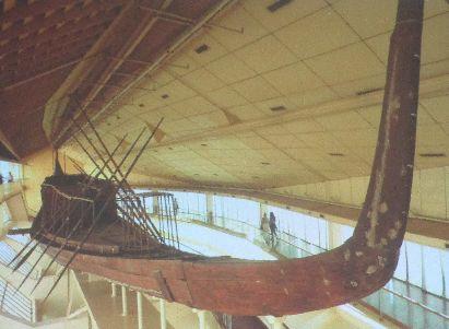 エジプトの天の浮船