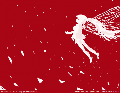つむじ風の妖精