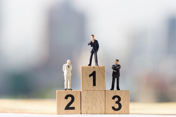 TOP3 ランキング 企業