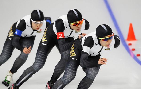スピードスケート女子団体パシュート