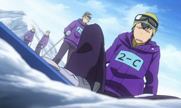 スキー アニメ