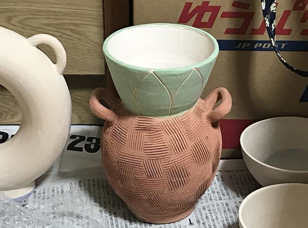 2017_11パイナップル花瓶7