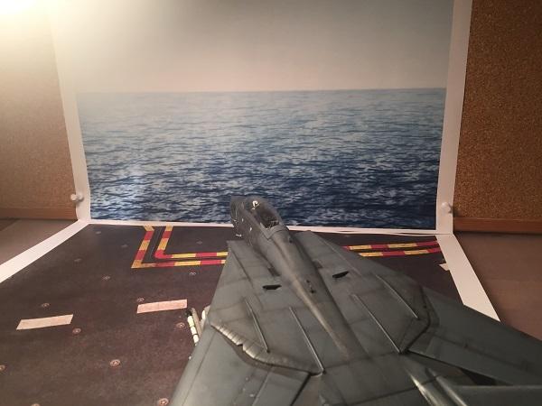 F-14 完成ブース