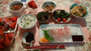 0123 刺身・煮物・揚げ出し豆腐
