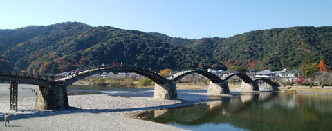 1202 錦帯橋と錦川1