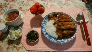 6日の晩御飯