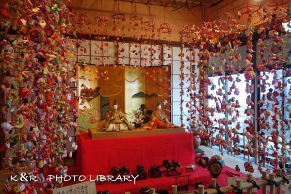 2017年3月5日素戔嗚神社雛壇飾り4