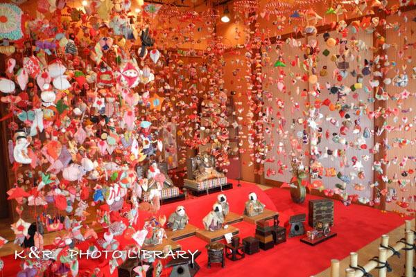 2017年3月5日素戔嗚神社雛壇飾り5
