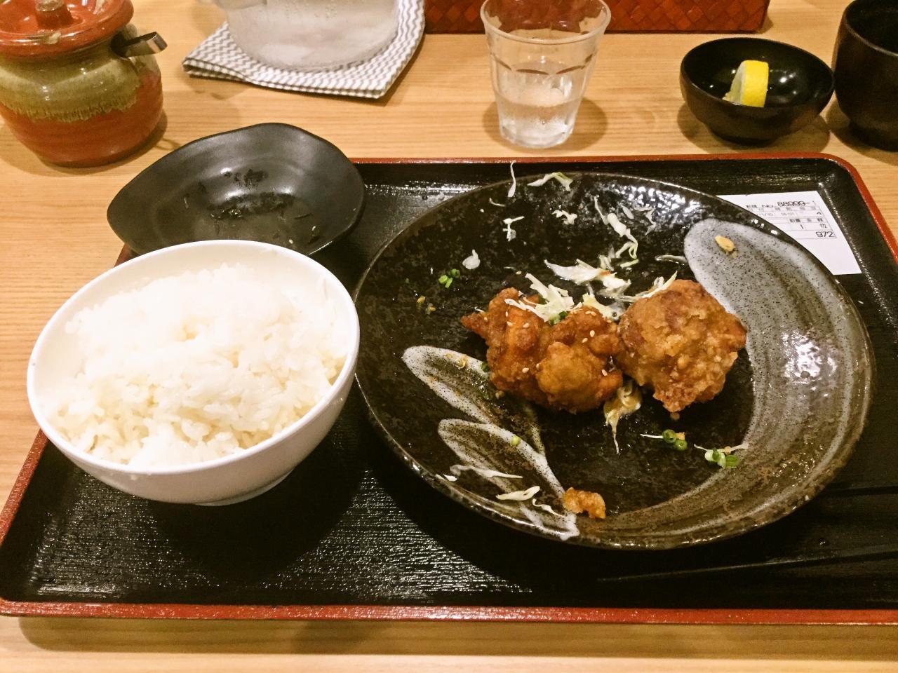 川崎鶏唐揚定食店(定食)