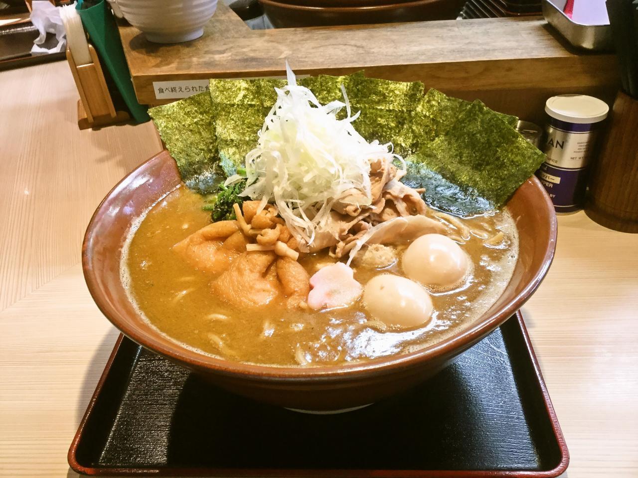 らー麺土俵 鶴嶺峰(らー麺)