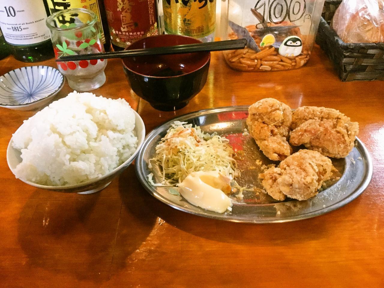 佐々木商店(唐揚定食)