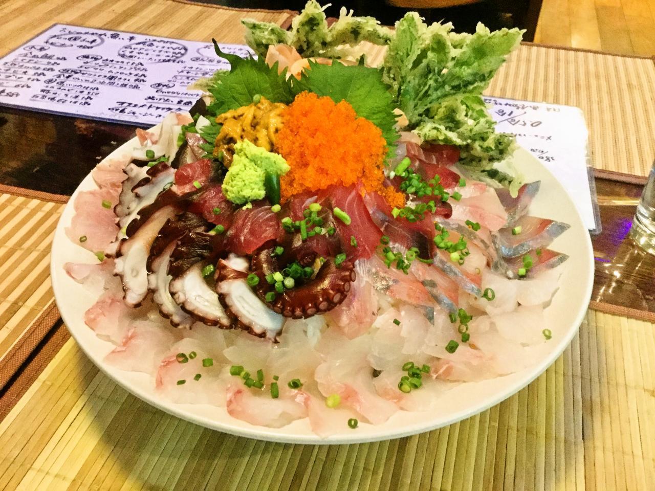 魚八亭 千住店(魚八でっかい海鮮丼)