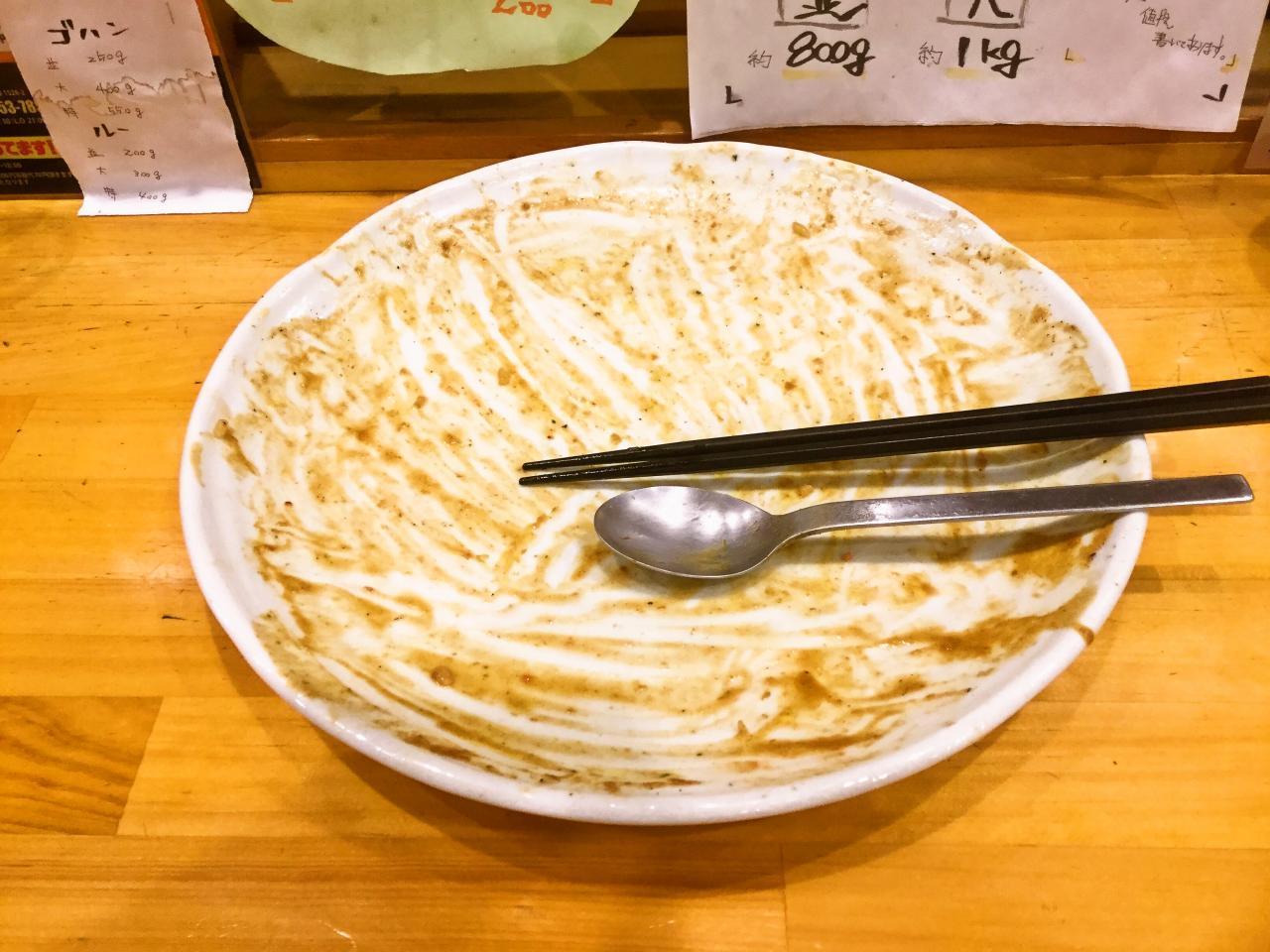 カレーの力 茅ヶ崎(デカ盛り鶏カラカレー)