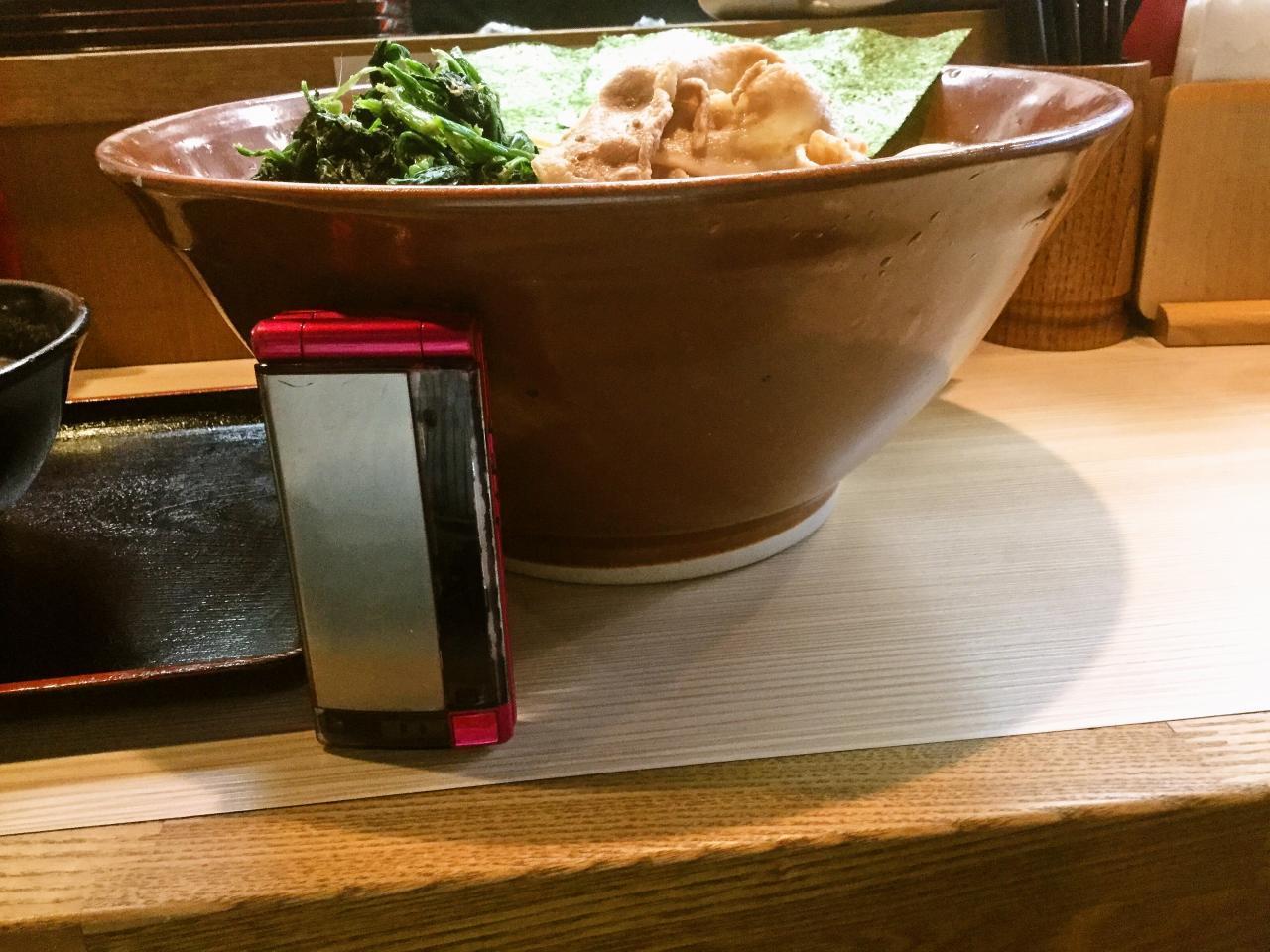らー麺土俵 鶴嶺峰(つけ麺)