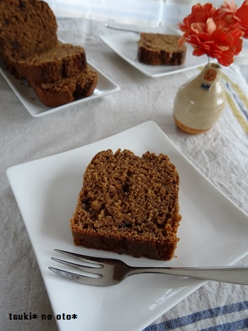 ごぼうとチョコのパウンドケーキ