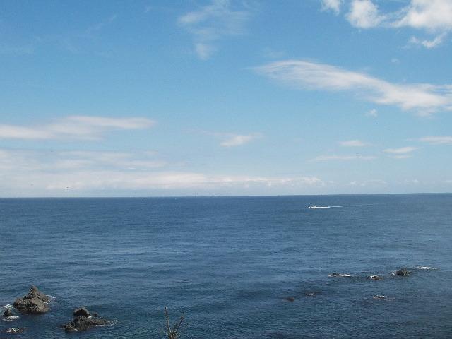安乗崎から海を望む201708-1