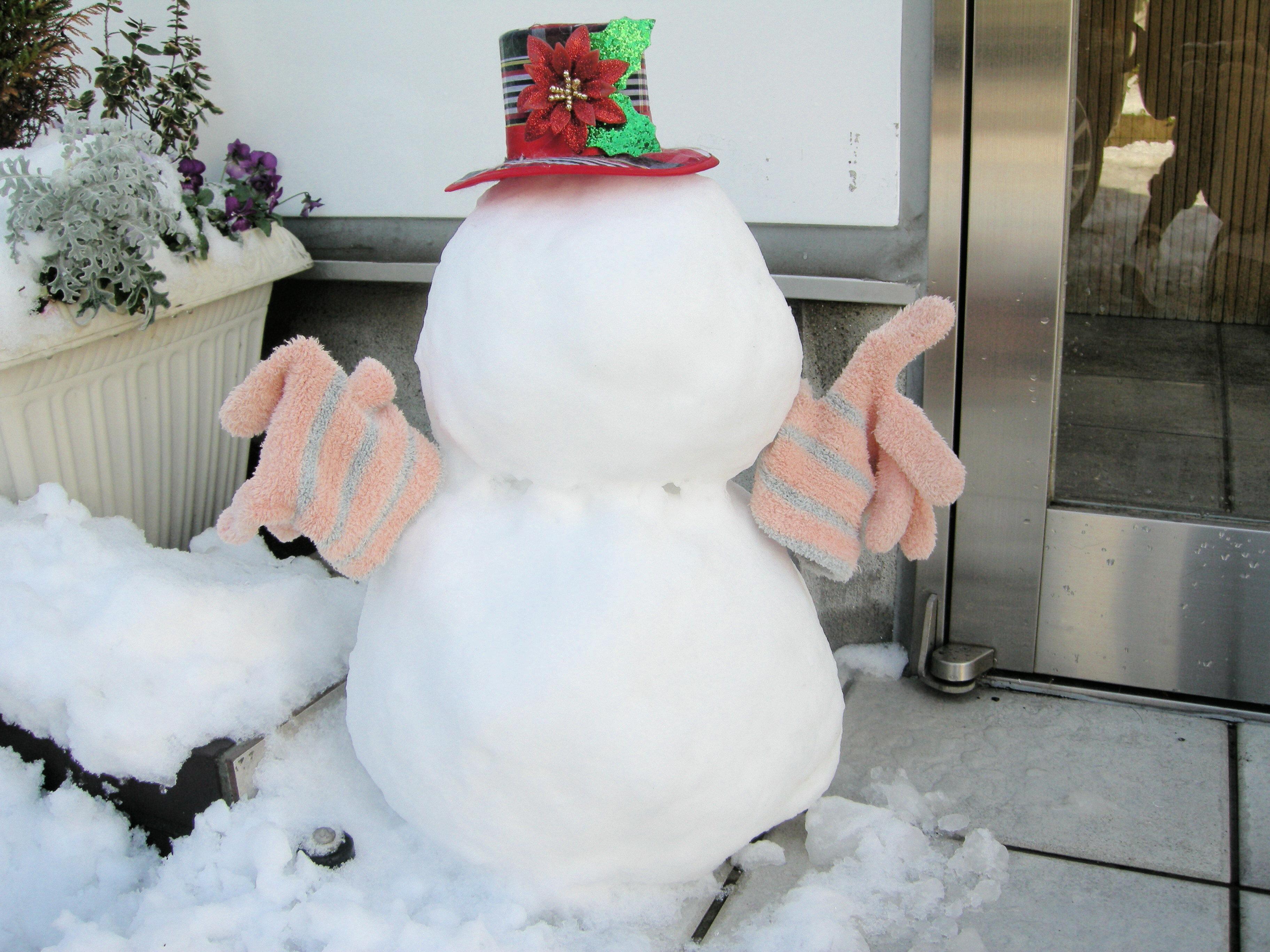 米雪だるま01