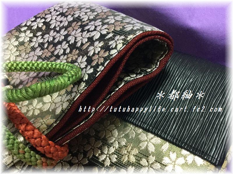 金襴桜吹雪竹刀袋8号帆布