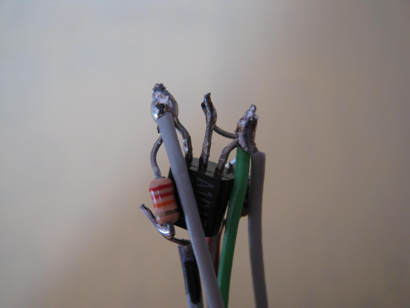 おともだちハローキティ(プルアップ回路外付け)実装1