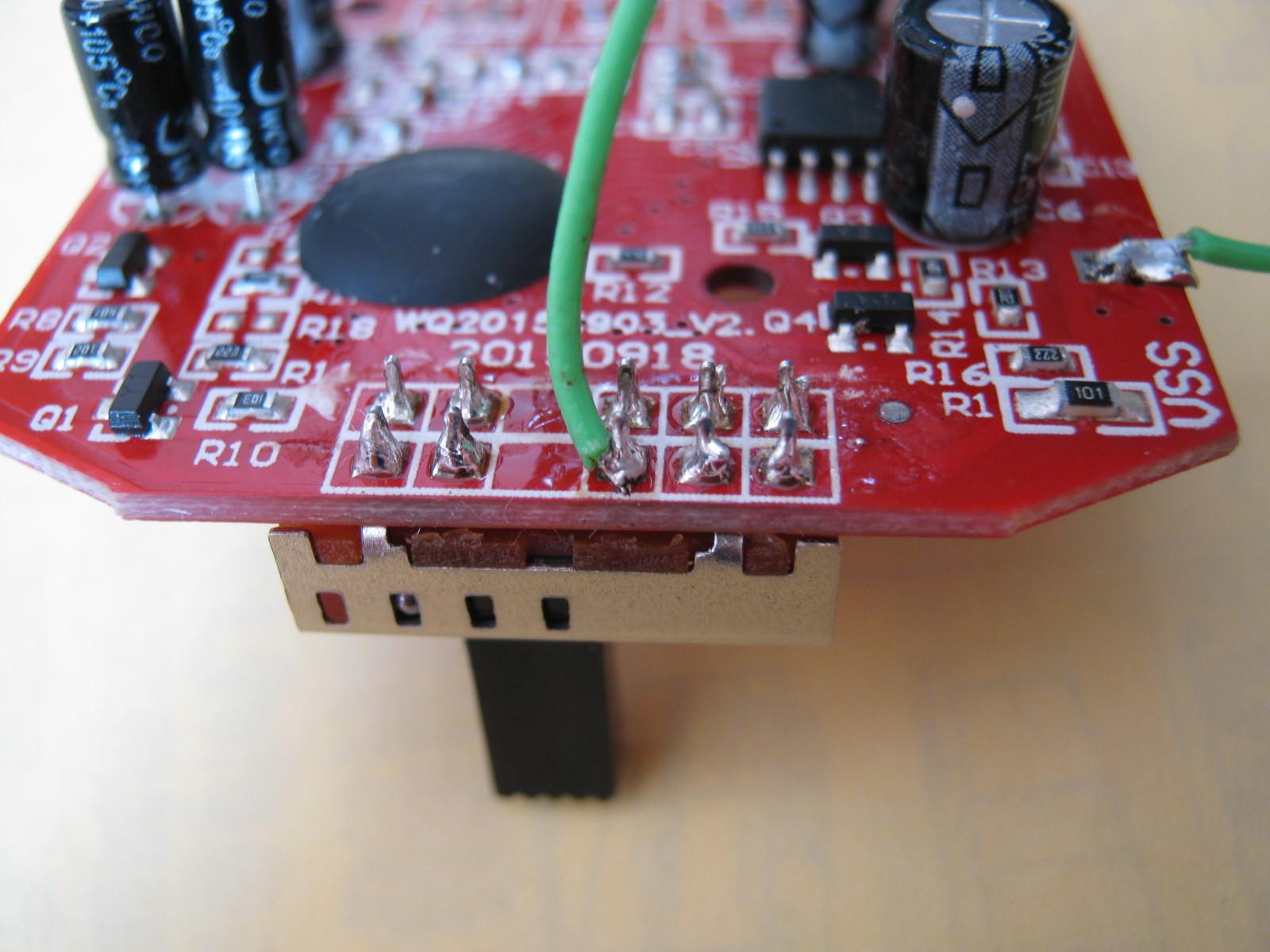 おともだちハローキティ(プルアップ回路外付け)実装3