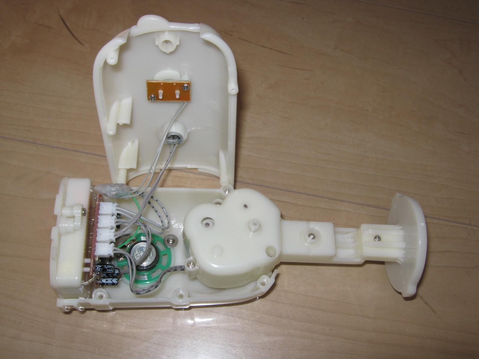 おともだちハローキティ(プルアップ回路外付け)実装4