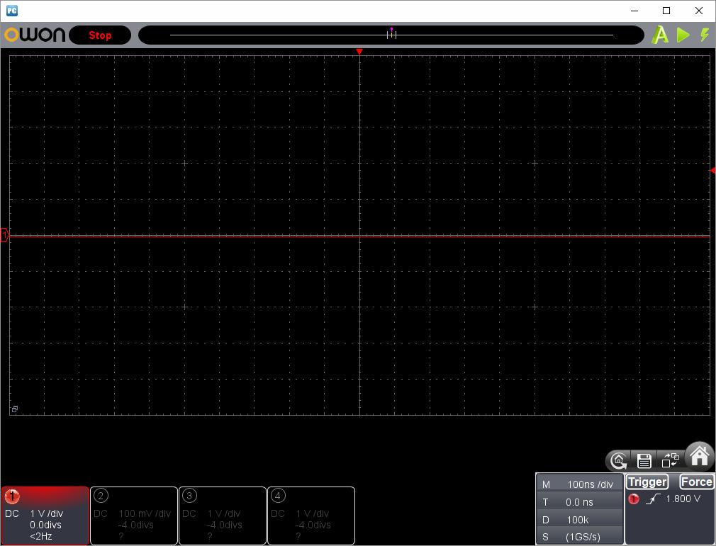 アンパンマンことばずかん(センサーピン半田クラック)センサー波形ピン1(SD1)