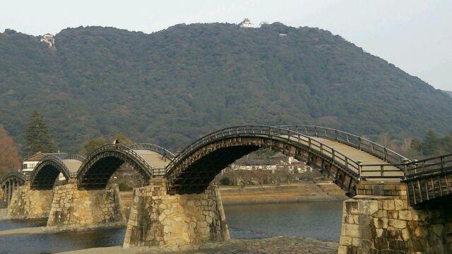 錦帯橋!!