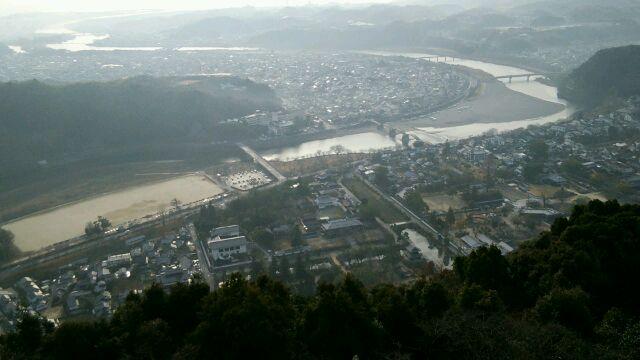 岩国城眺望