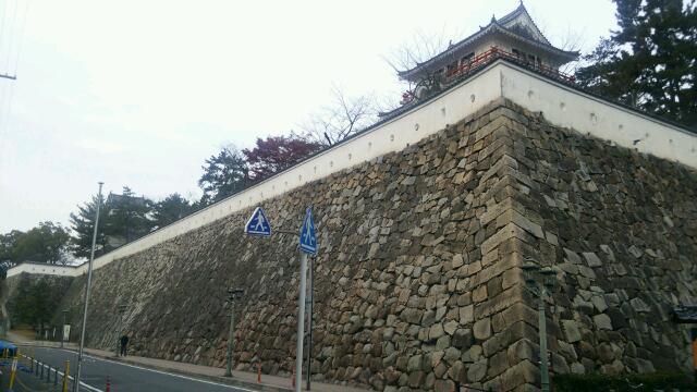 福山駅北口から見た