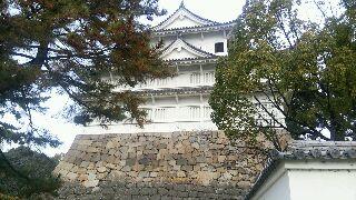 福山城入るよ