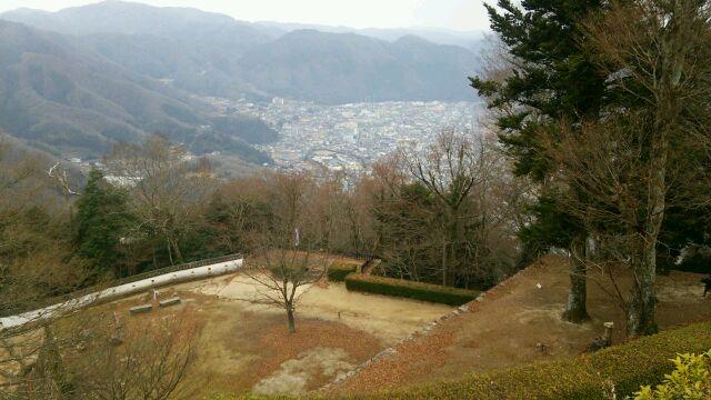 松山城からの眺望