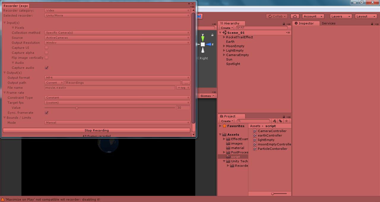 Unity Video Recorder