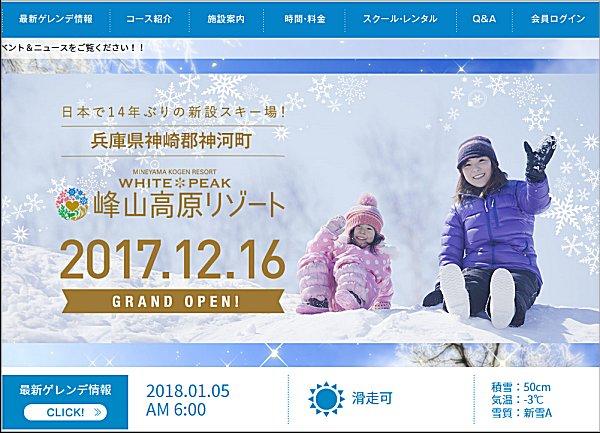 01神山高原スキー場