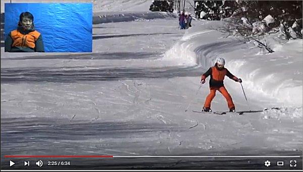 05スキーを外方向に