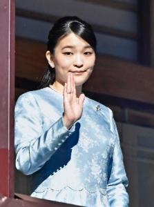 眞子内親王 180102