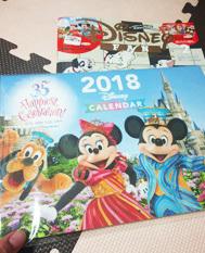 ディズニーファンのカレンダー