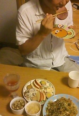 ハイリホーのハムステーキ実食