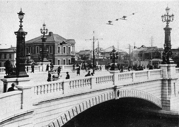 明治時代の日本橋