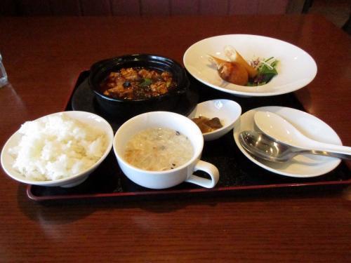 定食(麻婆豆腐)