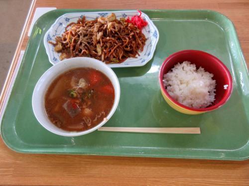 富士宮やきそば定食