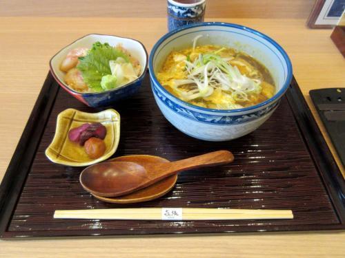 ミニ丼蕎麦ランチセット