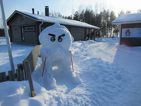 アングリーバード雪だるま