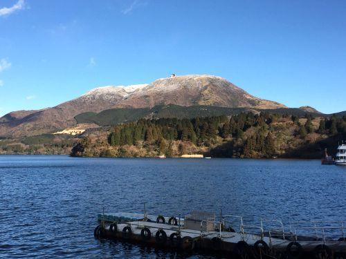駒ヶ岳と神山